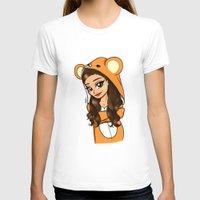 onesie T-shirts featuring Bear Onesie by Milou Baars