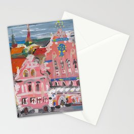 Houses of the Blackheads I Stationery Cards