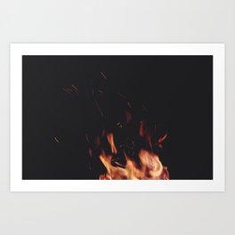 FIRE 5 Art Print