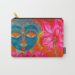 The Blue Buddha Carry-All Pouch