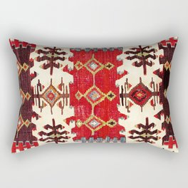 Burdur  Antique South West Anatolia Turkish Kilim Print Rectangular Pillow