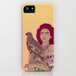 Falcon Lady iPhone Case