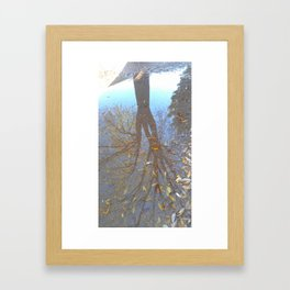 Dimensions in Shadow Framed Art Print