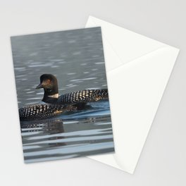 loon light Stationery Cards