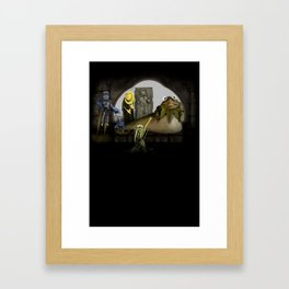 Kermit the Hut Framed Art Print