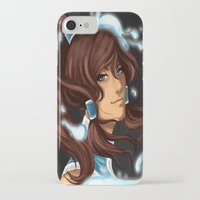 the legend of korra iPhone & iPod Cases featuring Korra by BubbleJuiceBox