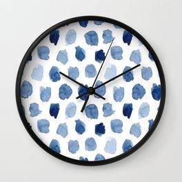 Indigo A Wall Clock