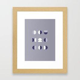 Geometrica - Color Study - 1/7/2019 - Graphic Art Print Framed Art Print