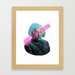 Einstein! Framed Art Print