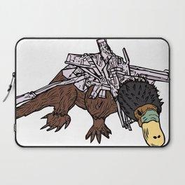 Battle Platypus Laptop Sleeve