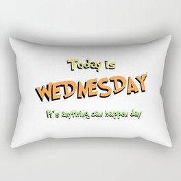 Anything Can Happen Day Rectangular Pillow