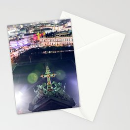 Berlin Cathedral Night City View Stationery Cards