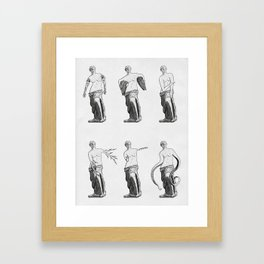 Who Knows? Framed Art Print
