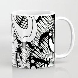 Prince Donster, Guardian of the Tropics (b/w) Coffee Mug