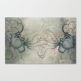 East Wind, West Wind Canvas Print