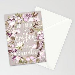 Coffee & Concealer – Spring Palette Stationery Cards