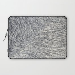 Real Marble Swirl Natural Laptop Sleeve