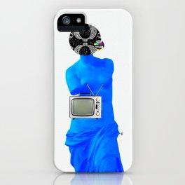 Statue Life TV · Blue Sunday iPhone Case