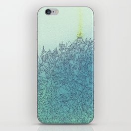 A Quiet Raft iPhone Skin