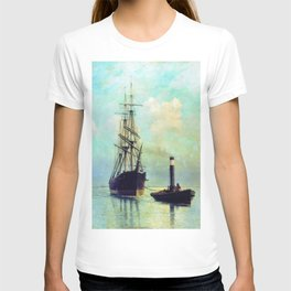 In The Gulf Of Finland 1881 By Lev Lagorio | Reproduction | Russian Romanticism Painter T-shirt