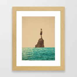 Lonesummer Framed Art Print