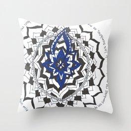 Sombras Throw Pillow