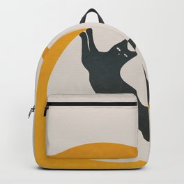Moon and Cat Backpack