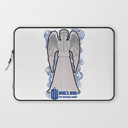 Doctor Who: Who's Who, the weeping angel Laptop Sleeve