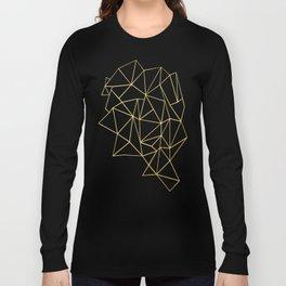 Ultra Purple Geo Long Sleeve T-shirt