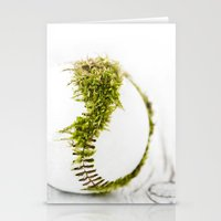 dragon ball Stationery Cards featuring Dragon Moss ball baseball by Surface Maximus