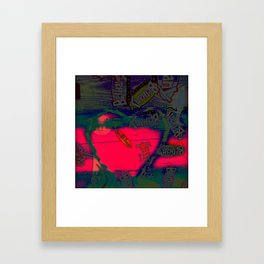 With All my Heart Remix Framed Art Print