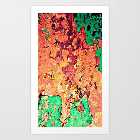 It's a Rusty Rusty World Art Print