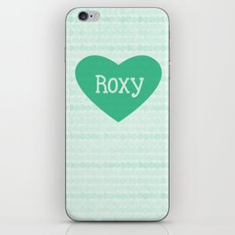 Roxy iPhone Skin