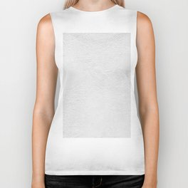 White Wall Texture (Black and White) Biker Tank