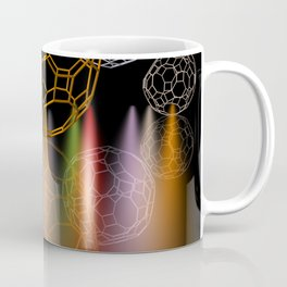 geometrical shapes and spotlights Coffee Mug