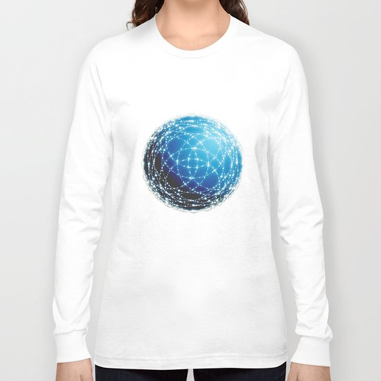 The Blue Orb Long Sleeve T-shirt