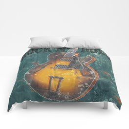 Rock and Roll Comforters