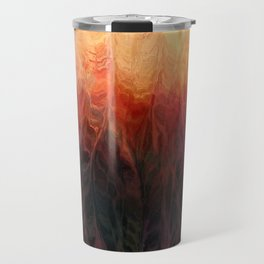 Hazed Forest Travel Mug