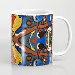 Owls In Space Multiplied Coffee Mug