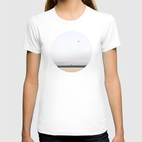 hot air balloon T-shirts featuring Hot Air Balloon Landscape  by Loaded Light Photography