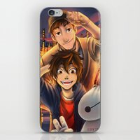 big hero 6 iPhone & iPod Skins featuring Big hero 6 by keiden