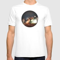 The woods Mens Fitted Tee MEDIUM White