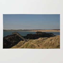 Towards Malltraeth Beach Rug