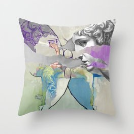Ghost in the Stone #2 Throw Pillow