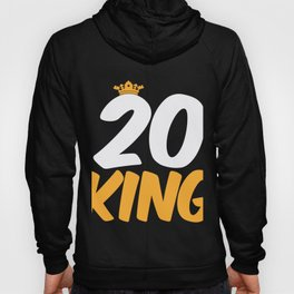20. Birthday Present 20 Years Old Funny Gift Hoody