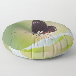 Postman butterfly Floor Pillow