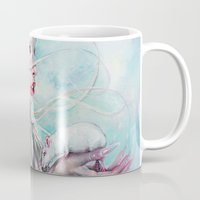 rat Mugs featuring Yolandi The Rat Mistress 	 by Tanya Shatseva