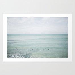 Surf #2 Art Print