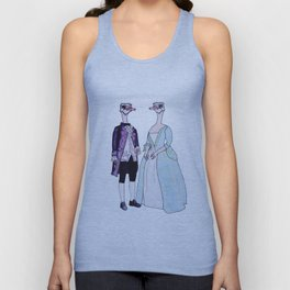 Master and Mistress Ostrich Unisex Tank Top