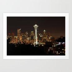 Simply Seattle Art Print